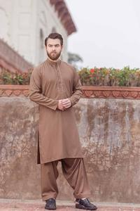 Bonanza Satrangi BROWN Color Kameez Shalwar For Man