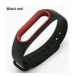 Cool Gadgets Strap For Mi Band 2 - Special Edition (Black & Red)