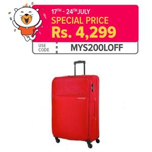 Shifu 56cm Spinner - 4 Wheels Trolley - Suitcase