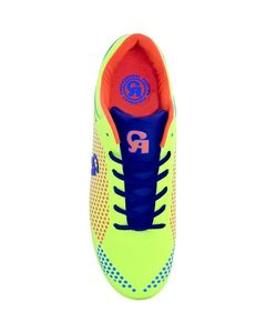 CA Sports Yellow Polyurethane Soccer Shoes for Men