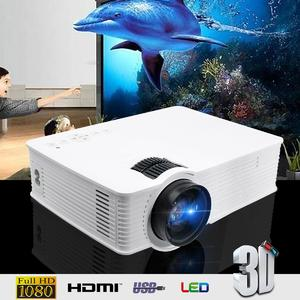 Thinyou GP-9 3000 Lumens HDMI WIFI HD 1080P LCD Home Theatre Video Projector LED US Plug