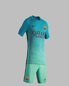 Sea Green Polyester Football Kit
