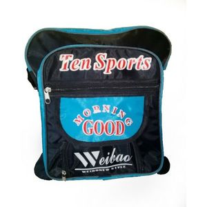 Hafiz Sports Parachute BLUE& BLACK medium SPORTS school bag