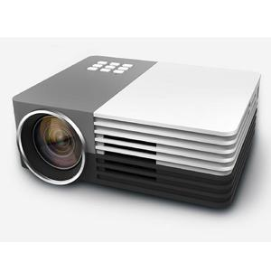 GM50 Portable Mini Household HD LED Projector (EU Plug)