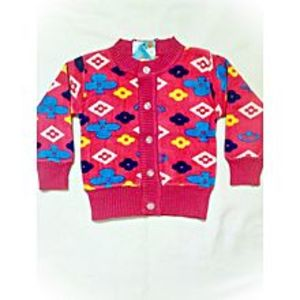 Wardrobe Desire Winter Collection Little Star Sweater for Kids Red