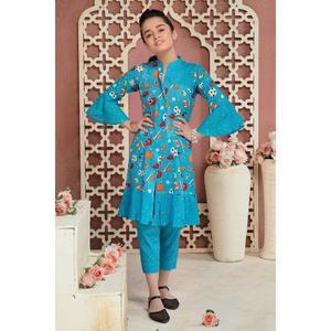SITARA STUDIO Sapna Collection 2019 Multicolor Lawn 2PC Unstitched Suit For Women - 6145 B  (Un-stitched)