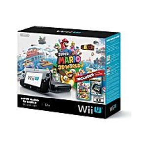 Nintendo  WII U with Super Mario 3D World ? NTSC ? Black