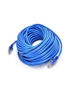 LAN Cable CAT-6E UTP - 20M - Blue