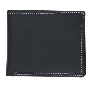 LIVA GIRL - Men High Grade PU Leather Wallet Fashion Leisure Black Short Money Bags