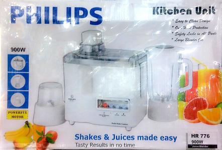 Philips 3 in 1 Juicer, Blender