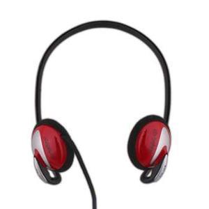 Audionic - AH-40 - OnEar Headphones - Red & Black