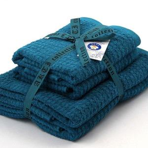 Alkaram Towel 4 - Piece Towel Set Turquoise