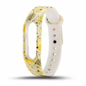 Amazing  Watchband Watch Strap Soft TPU Colour Decoration Parts Watch Guard for Xiaomi Band2