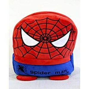 KIDS CARE Spider Man Stuffed Bag - 14 Inches - Red