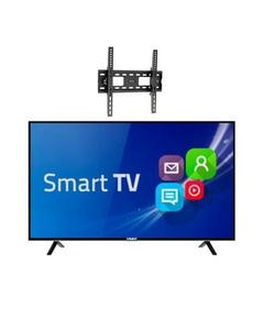 "Smart Hd Led Tv - 32"" With Free Wall Mount - Black"