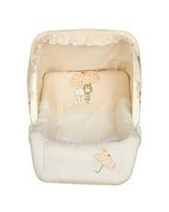 Baby Carry Cot - Offwhite