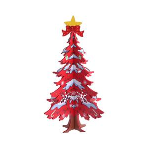 Xmas Trees Christmas Tree Cute Gadget Red/Green Ornament Decoration Table Decor Festival