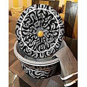 ANSHA MART Ansha Marts 3 Piece Roti Hot Pot Basket - Multi Designs