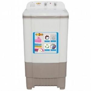 Super Asia Washer Plastic Body SAW-111 Jet Wash, Single Tub, Grey Color, Capacity 8Kg, 220V, 99.9% Copper Wire, Two Way Simulator, Slim & Elegant