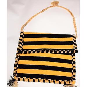 Rug Pitto Ladies Sling Bag, Hand Crafted