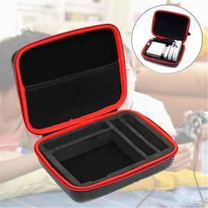 Portable NES NESPI Classic Bag Storage Box For Raspberry Pi 3 2 B+ Case Black+Red