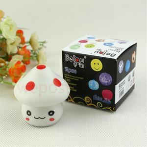 Cute Mini Mushroom Night Light Color Changed Kids Sleeping Lamp