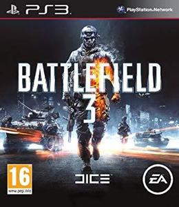 BATTLEFIELD 3 PS3 GAME DVD WITH 1 FREE GIFT OF YOUR CHOICE