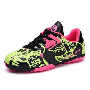 Professional Kids' Indoor Football Boots Men Turf Racing Soccer Boots Training TF Football Shoes