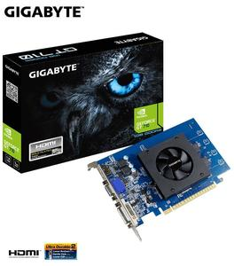 GIGABYTE GeForce GT 710 NVIDIA 1GB 64-Bit GDDR5 ATX Graphic Card (Model:GV-N710D5-1GI)