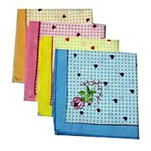 Hi CharliePack of 4 - Handkerchief Set - Multicolor