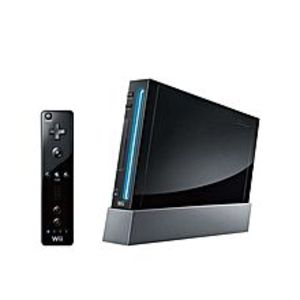 Nintendo Wii - Asian - Singapore - Black