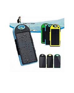 Solar Power Bank 5000Mah Portable Mobile Charger