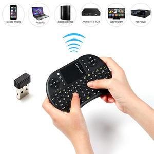 RF 500 2.4GHz Most Mini Wireless Keyboard Mouse Combo 3.3V Built-In Rechargeable Lithium Battery For TV Box Laptop
