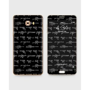 Samsung Galaxy C5 Pro Skin Wrap With Front Back And Sides Violent Jane-1wall660