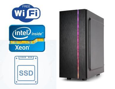 AA Computers - ULTRA GAMING PC - Custom Build Xeon E3-1245v3 Boost Upto 3.80 GHz - Gigabyte H77 Gaming Mother Board - 16GB DDR3 1600MHz Ram - 1TB HDD - 128GB SSD - Rx 480 4Gb 256bit Graphics Card
