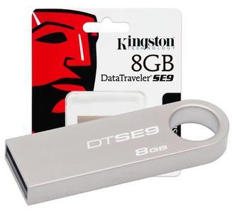 Kingston 8GB USB Flash Drive 3.0 Data Traveler SE9 G2 (Metal) 3 Month Warranty