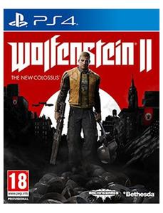 PLAYSTATION 4 DVD Wolfenstein II: The New Colossus PS4 GAME