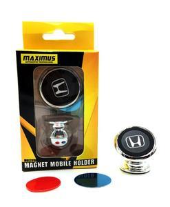 Honda Magentic Mobile Holder - Silver & Black