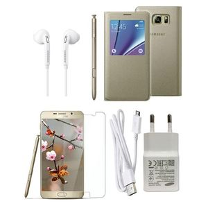 Pack of 10 - Accessories For Galaxy Note 5 - Gold