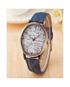Blue Jeans Stylish Watch