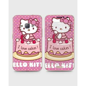 Samsung Galaxy J1 2016 (J110) Skin Wrap With Front Back And Sides Kitty-1Wall181