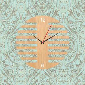 Wooden cutting wall clock / laser cutting antique wall clock