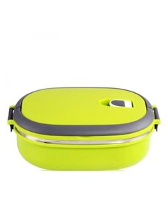 Thrifty Collection Lunch Box Oval - Green