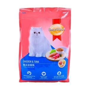 Smart Heart Chicken & Tuna Adult Cat Food All Breeds 1.2kg