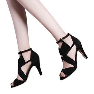 Women Color Matching High Heels Sexy Non-Slip Nightclub Stiletto Sandals Shoes