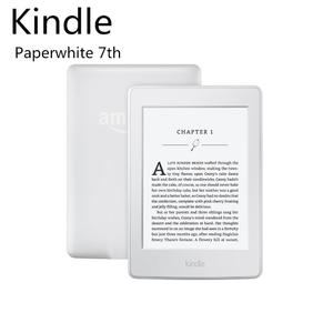 Kindle Paperwhite E-reader (7th Gen.) - White, 6  Touch  High-Resolution Display (300 ppi) with Built-in Light, Wi-Fi - Includes Special Offers (USED)