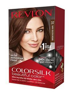 Color Silk 3D Technology USA For Men and Women No 37 Dark Golden Brown