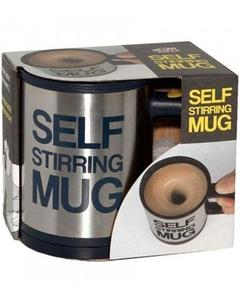 Winter Collection Multicolor Stainless Steel Self Stirring Coffee Magic Mug