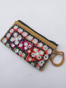 2019 New Winter Collection Square Hot Hand Envelope Package Sindhi Culture Women Fashion Sequins Envelope Bag Personality Clutch Purse Leather Top Quality Handbags