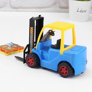 Engineer Forklift Crane Truck Car Model Kid Action Figures Vehicle Toy Gift